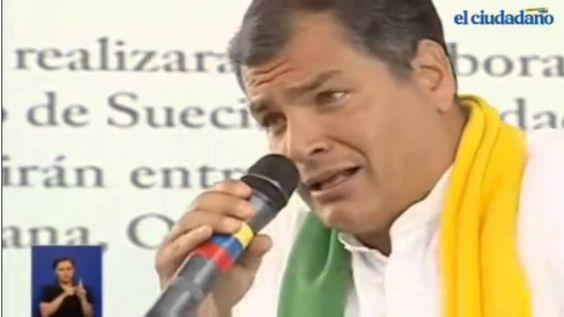 Obama dejado en Ridiculo por Rafael Correa