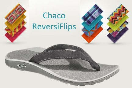 Introducing the Chaco ReversiFlip! Stop into The Fitted Foot to check them out!