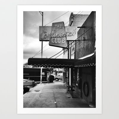 Out Front Art Print by Sid Pena - $20.00