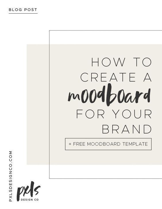 How To Create A Mood Board For Your Brand Free Template Brand Blitz Creative Studio Mood Board Template Branding Your Business Branding Design