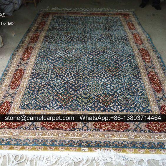 Turkey carpet,silk,handmade,6x9ft