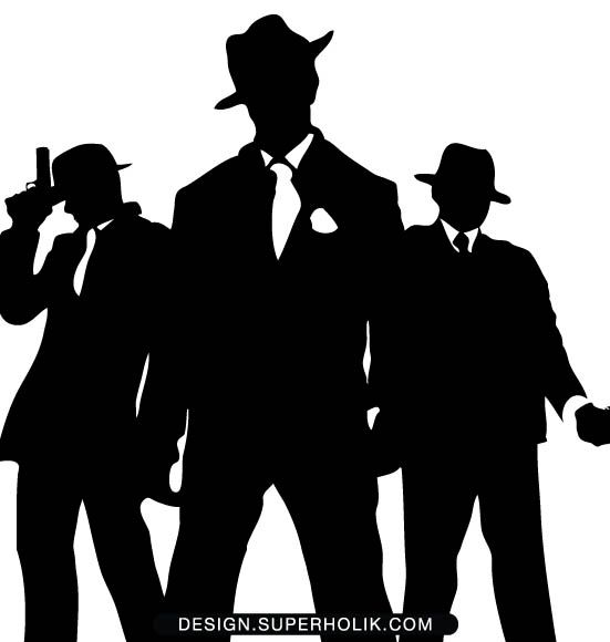 1920 Gangster Silhouette | www.pixshark.com - Images Galleries With A Bite!