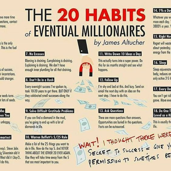ZOOM IN ✒️@altucher  #habits #millionaire #millionaires #billionaire #billionaires #money #getrich #success #motivation #inspiration #passion #hustle #hustler #entrepreneur #entrepreneurship #businessowner #onlinebusiness #entrepreneurs #Wealth #workethic #workhard #hardwork #gogetter #ambition #infographic