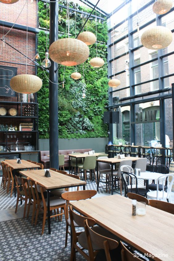 Leiden Restaurant And Garden Walls On Pinterest