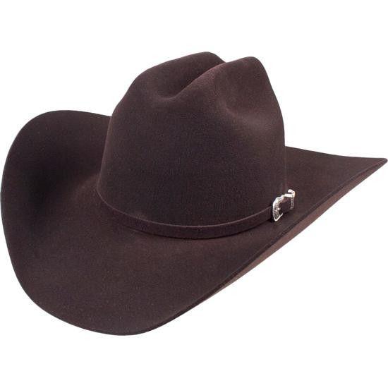 Chocolate 4X Bailey Lightening Felt Hat