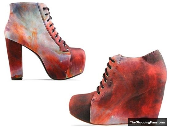Black Milk Jeffrey Campbell galaxy  The Shopping Fans