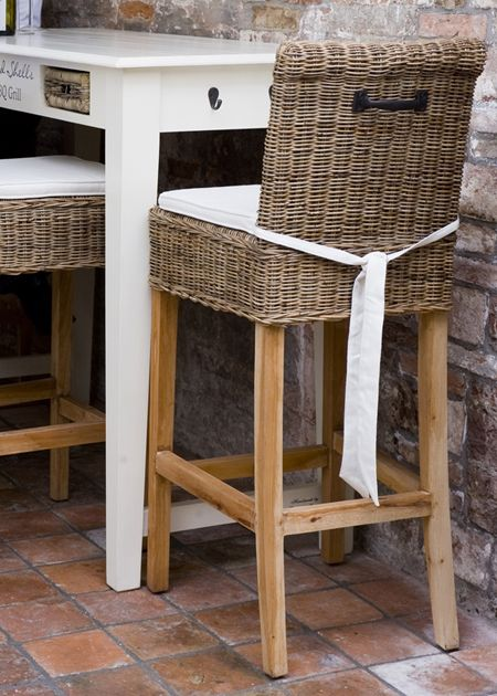 €299,- Rustic Rattan Bar Stool #living #interior #rivieramaison: