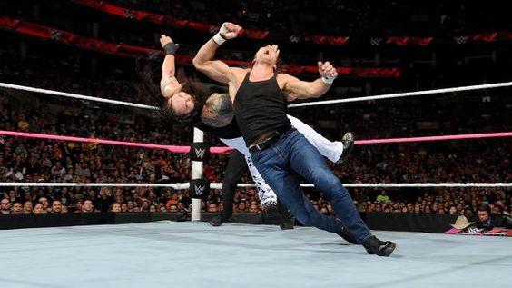 Roman Reigns, Dean Ambrose & Randy Orton vs. The Wyatt Family: photos | WWE.com