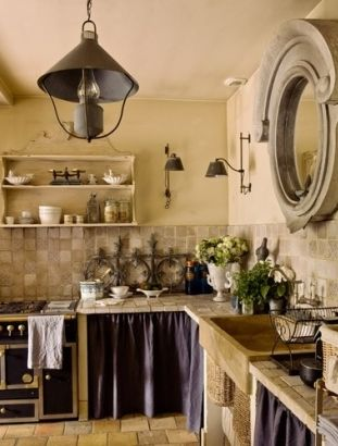 Charming French Farmhouse Kitchen