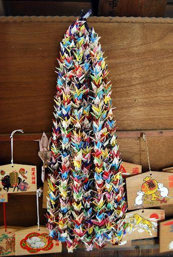 One Thousand Cranes Origami - Senbazuru - The Art Of Japanese