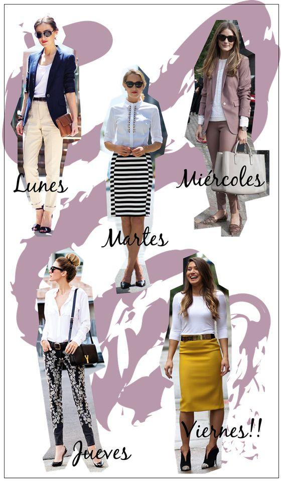 estilozas: 5 looks de oficina