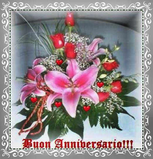 abbastanza Gif ♥ Buon Anniversario ♥ Happy Anniversary ♥ Joyeux  BK12