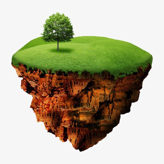Green Floating Island Green Screen Video Backgrounds Studio Background Images Floating