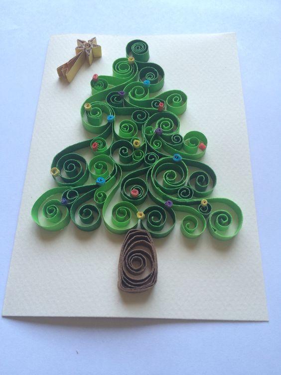 Decorations De Noel En Quilling
