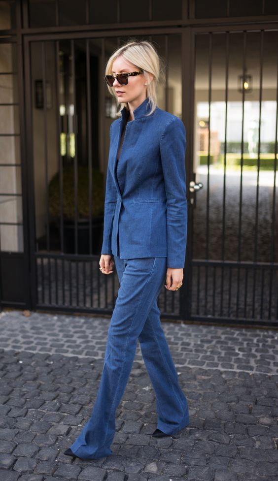 DENIM SUIT: