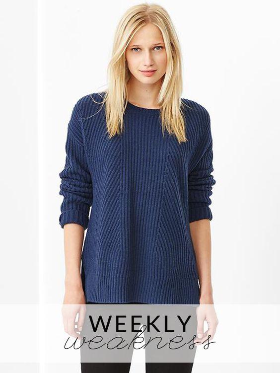 Weekly Weakness - Gap Boyfriend Sweater | Cream, Gap and Jumpers