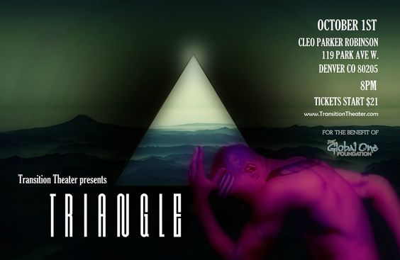Transition Theater Presents: TRiANGLE - Transcendental Performance Art OCT 1st…
