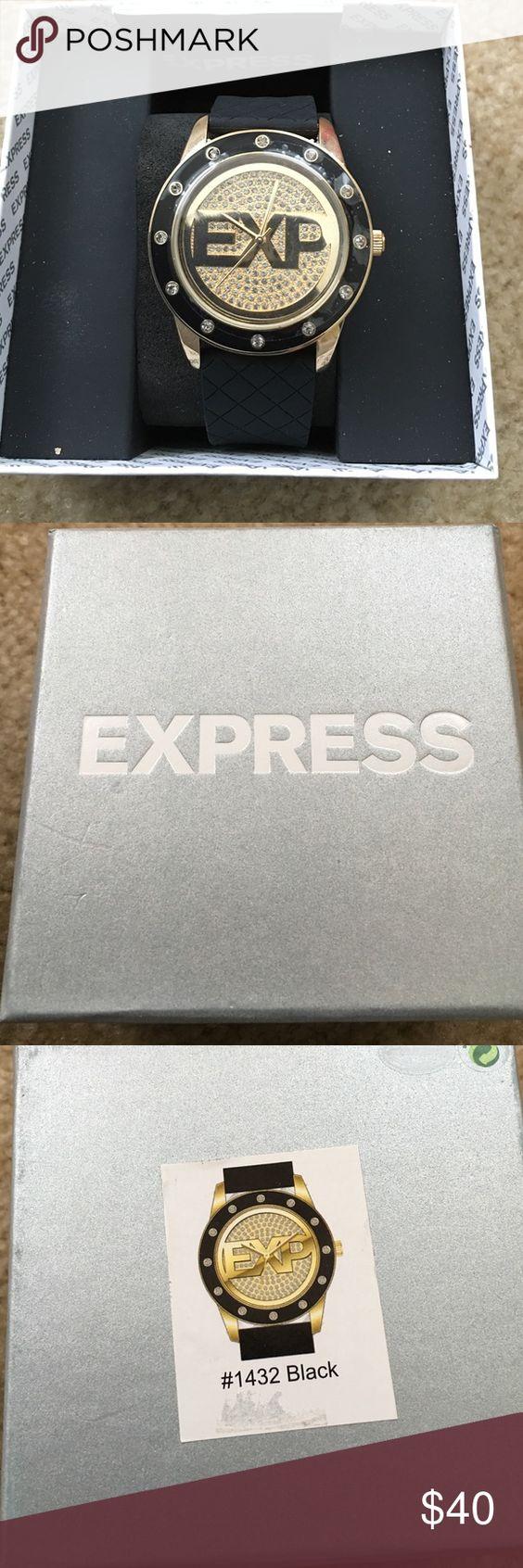 NWOT EXPRESS WOMEN'S WATCH;NEED BATTERY EXPRESS BIG FACE WATCH FOR A WOMAN Express Accessories Watches