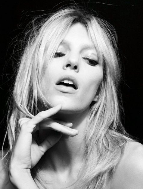 Anja Rubik / Photography by Patrick Demarchelier
