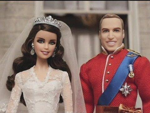 Duke and Duchess of Cambridge: Wills and Kate Royal Wedding dolls ...