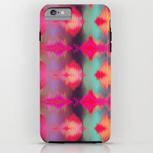 Watercolor Ikat iPhone & iPod Case