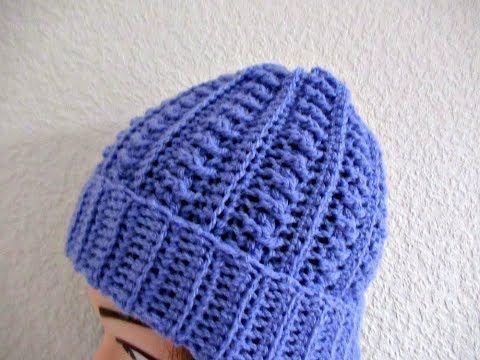 Crochet Beanie Hat Adults Women S Tutorial Make Smaller For Child Designed By Happy Crochet Club Youtube Crochet Crochet Hats Crochet Beanie Hat