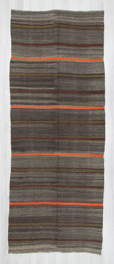 Vintage striped kilim rug from Malatya region of Turkey.İn good condition.Approximately 50-60 years old