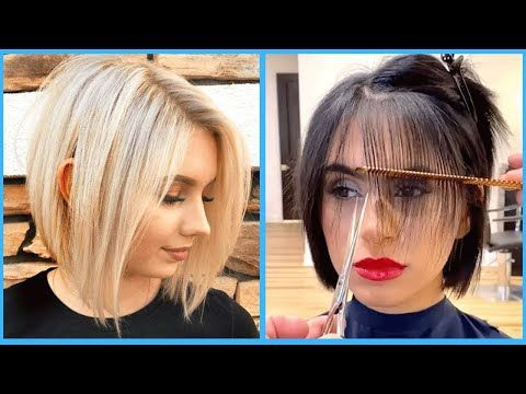 12 New Bob Haircut Ideas Trends 2020 Women Short Haircut Compilation Haircut By Professional In 2020 Bob Haircut For Fine Hair Haircuts For Fine Hair Bobs Haircuts