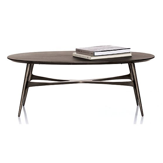 Oval Coffee Tables Crate And Barrel And Coffee Tables On
