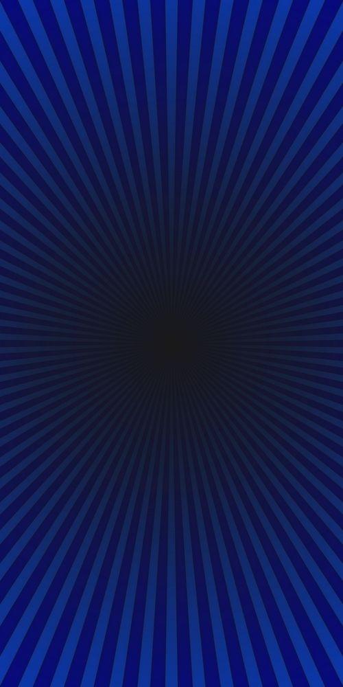 Dark Blue Geometric Abstract Ray Burst Background Gradient