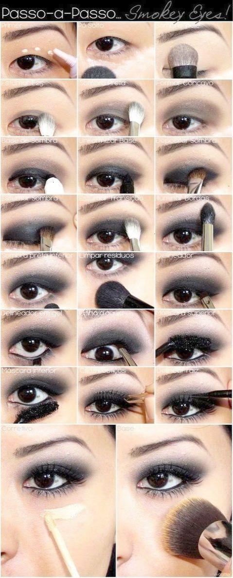 Smokey Eye Makeup Tutorial For Asian Monolids Asian Eye Makeup