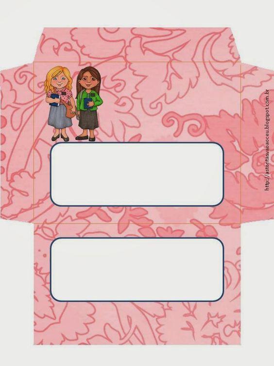 As Tontas Vão Ao Céu: Envelopes para Sisteres