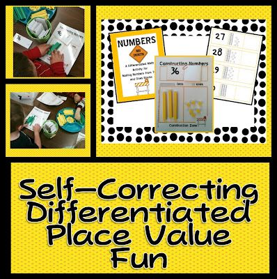 place values math and differentiated kindergarten on pinterest. Black Bedroom Furniture Sets. Home Design Ideas