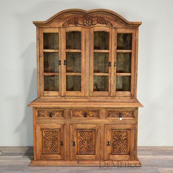 rustic hutch hacienda style furniture furniture