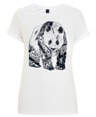 Tattooed Panda-Frauen TShirt