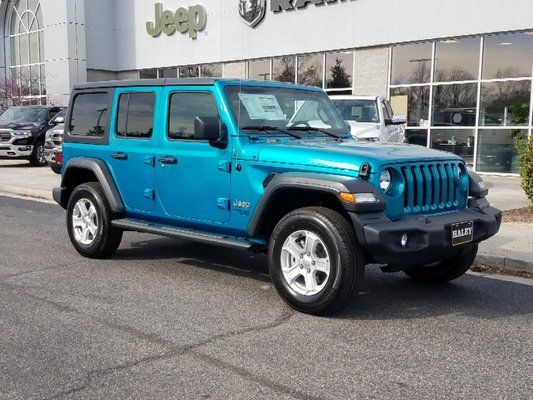 2019 Bikini Pearl Coat Exterior Paint Jeep Wrangler Unlimited