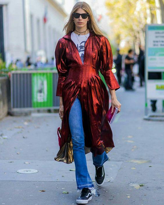 Vestido com calça  @streetrends