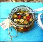 Gemarineerde+olijven