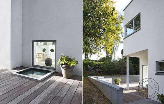 Villa Årstiderne arkitekter arkitekt nybygning moderne arkitektur ...
