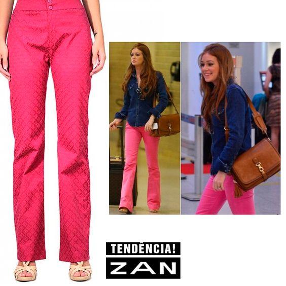 É fashion! É pink! É Zan!