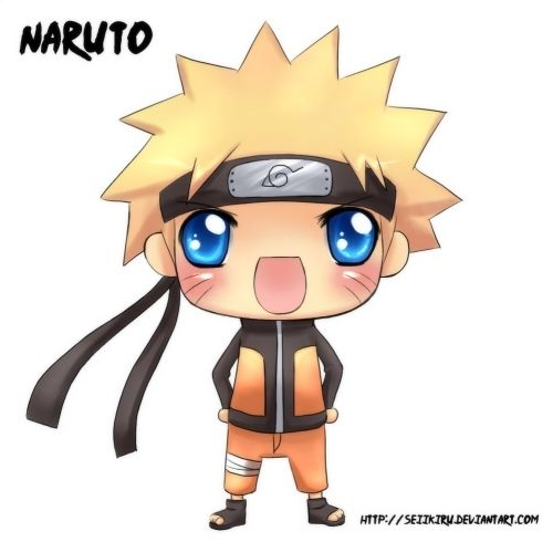 how to draw chibi naruto characters