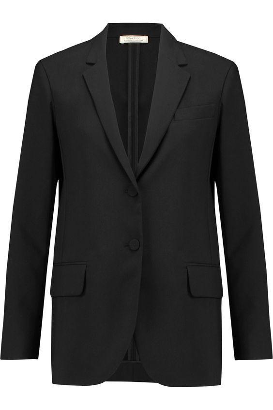 NINA RICCI Wool-piqué blazer. #ninaricci #cloth #blazer