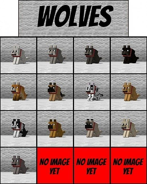 cool minecraft dogs - Google Search