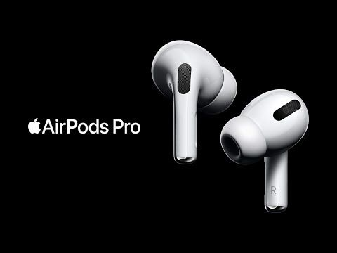 Apple Airpods Pro Add Active Noise Cancellation Airpods Pro Apple Products Apple New