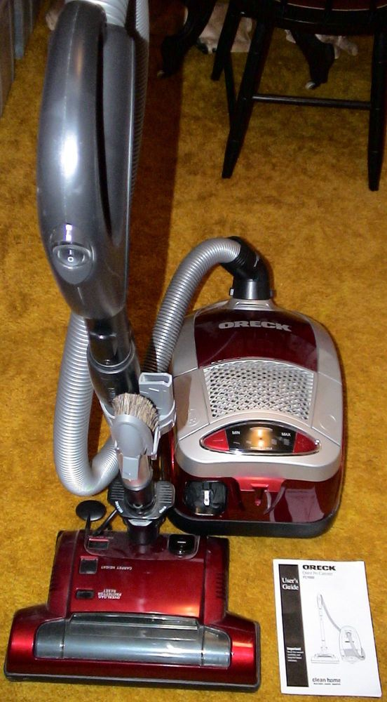 Oreck Quest Pro Bagged Canister Vacuum Fc1000 Used Oreck Canister Vacuum Oreck Canister Vacuums