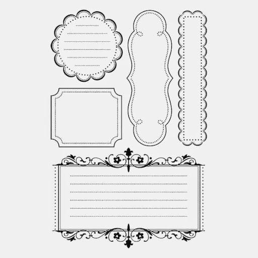Moldes Para Imprimir Etiquetas Em Preto E Branco Clique Nas