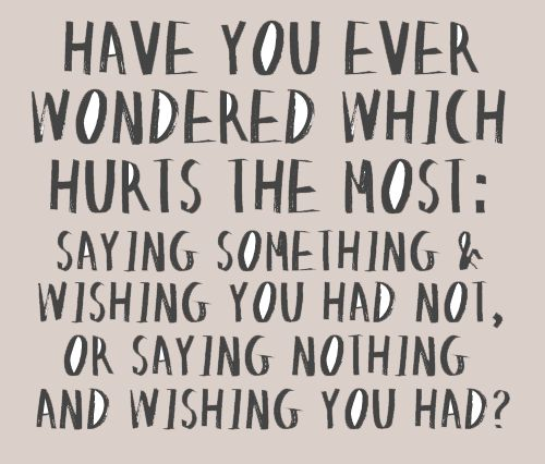 I always wonder.
