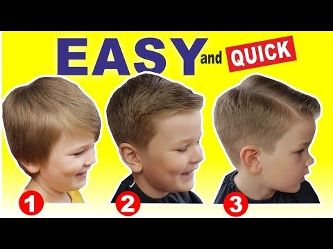 48++ Easy boy haircuts at home trends