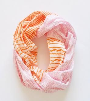 Dream Of Paisley Infinity Scarf