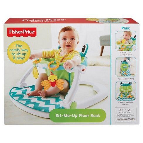 Fisher Price Sit Me Up Floor Seat Citrus Frog Target Baby